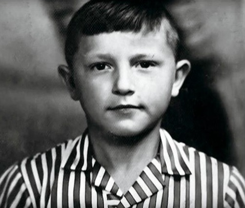 Станислав Боклан в детстве
