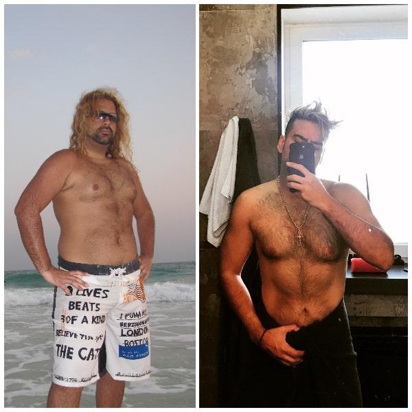 амадор лопес до и после похудения фото